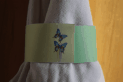 Green Butterfly Napkin Ring