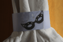 Party Mask Napkin Ring